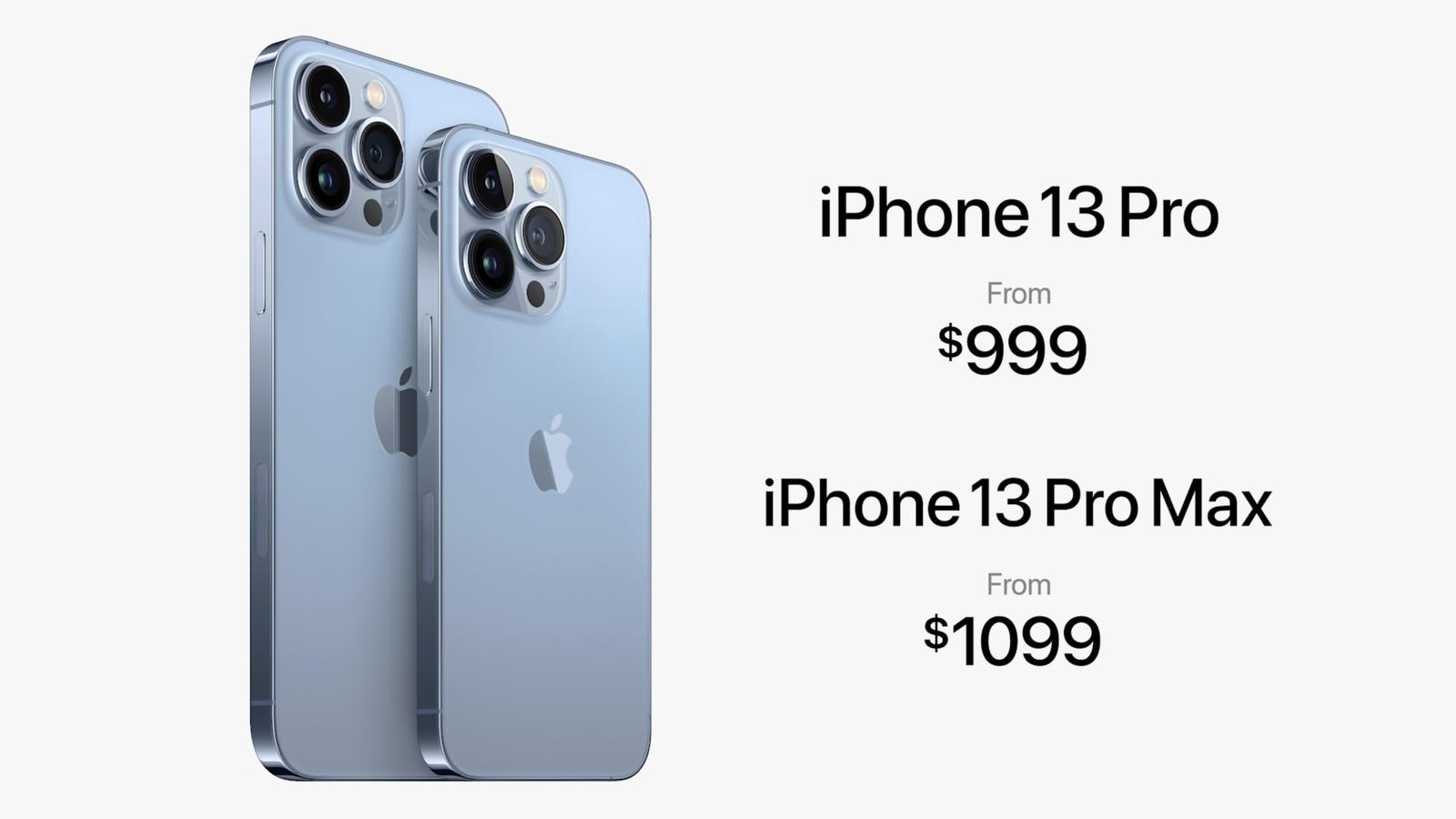 iphone 13 pro prezzo