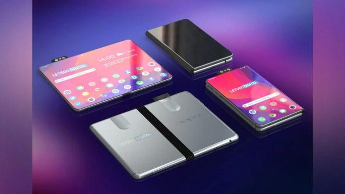 Oppo smartphone pieghevole